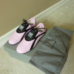 Balenciaga 'Zen' Pink/Black Athletic Sneakers - 7B